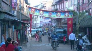 Street Traffic in Kathmandu, Nepal 5