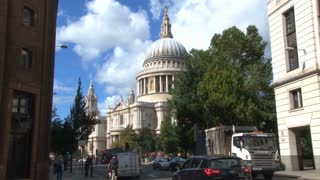 Street View Of Saint Pauls Cathedral