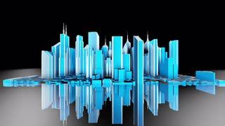 Strobing Cityscape