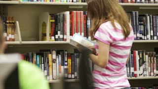 Students Check out Books