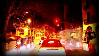 Stylized Barcelona Driving