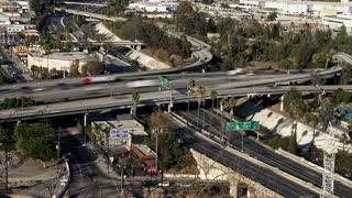 Suburban Highway Overpass