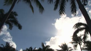 Sun Behind Clouds In Puerto Rico
