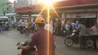 Sun Flare Vietnam Street Ride