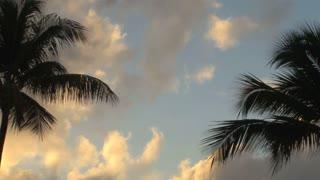 Sun Glowing Puerto Rican Sky