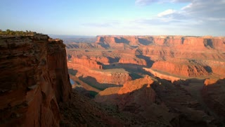 Sun Rises Over Dead Horse Point