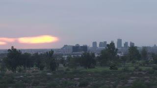 Sun Setting in Phoenix