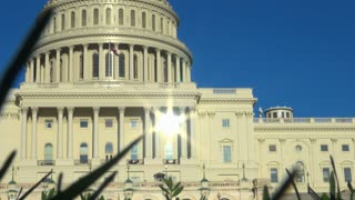 Sun Shining on DC Capitol Building