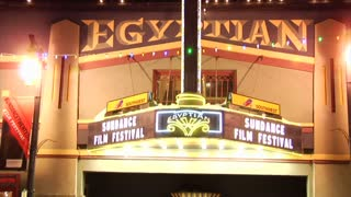Sundance Film Festival Egyptian Theater Marquee