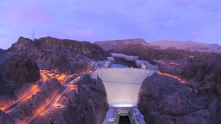 Sundown Hoover Dam