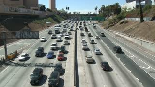 Sunny LA Freeway
