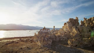 Sunny Mono Lake Rock Formations