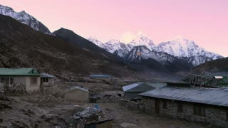 Sunrise in Nepal Village
