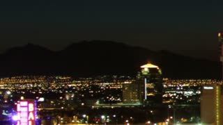 Sunrise Timelapse Vegas City