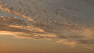 Sunrise Wispy Clouds Timelapse