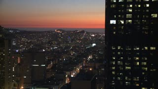 Sunset Building San Francisco Timelapse