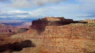 Sunset Canyonland Landscape Timelapse