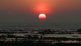 Sunset in Daman India