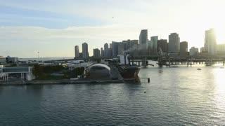 Sunset Miami Causeway