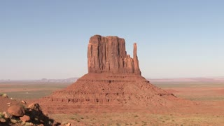 Sunset Monument Valley Shadow