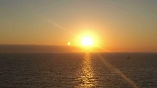 Sunset Ocean Shimmer