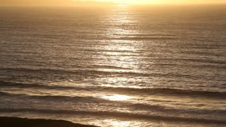 Sunset Ocean Waves