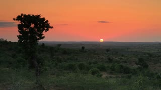 Sunset on the Horizon in Kenya 2