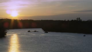 Sunset Over Potomac River