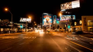 Sunset Strip Street Timelapse