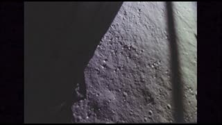 Surface Texture of the Moon From Lunar Module