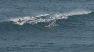 Surfer On Medium Wave