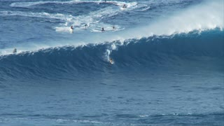 Surfing On Massive Wave