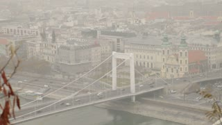 Suspension Bridge in Budapest