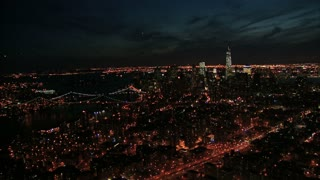 Sweeping View of NYC at Night 2