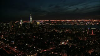 Sweeping View of NYC at Night 4