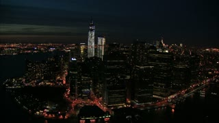Sweeping View of NYC at Night 6