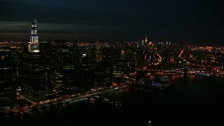 Sweeping View of NYC at Night 7