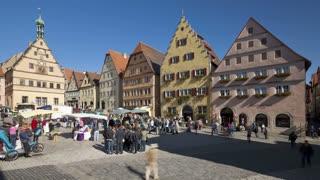 T/lapse Marktplatz square, Germany