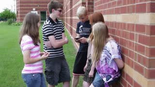 Talking and Texting Outside School