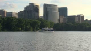 Tall Buildings Across the Potomac From DC
