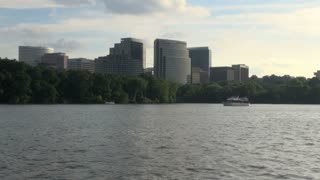 Tall Buildings Along Potomac River