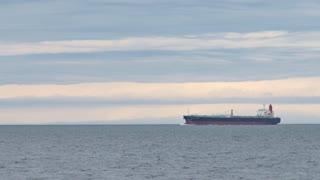 Tanker Under Way