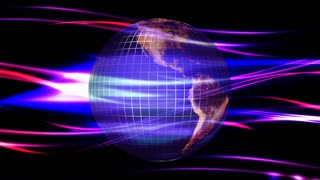 Techno Wave Earth