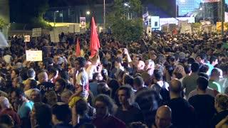 Tel Aviv protest demonstration 4