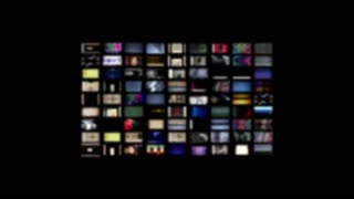 Television Wall Static Zoom In