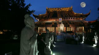 Temple of Confucius at Night