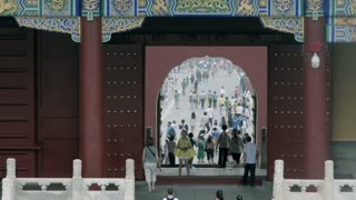 Temple of Heaven Entrance Time Lapse