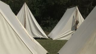 Tents on Camp Site
