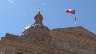 Texas Capitol Flag