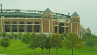 Texas Rangers Baseball Stadium in Arlington Texas